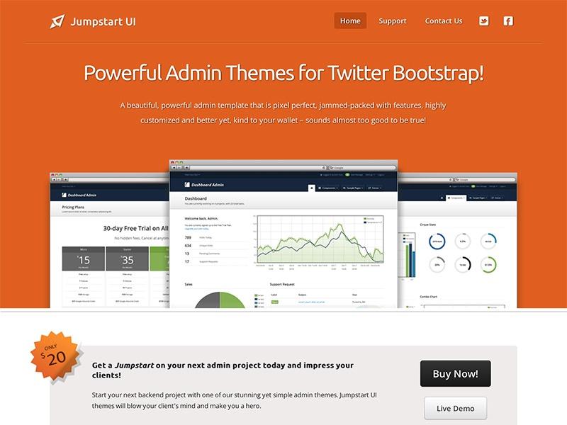 Jumpstart UI · Bootstrap Expo